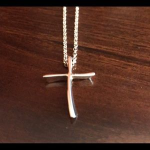Jewelry - Sterling Silver Cross on Sterling Chain
